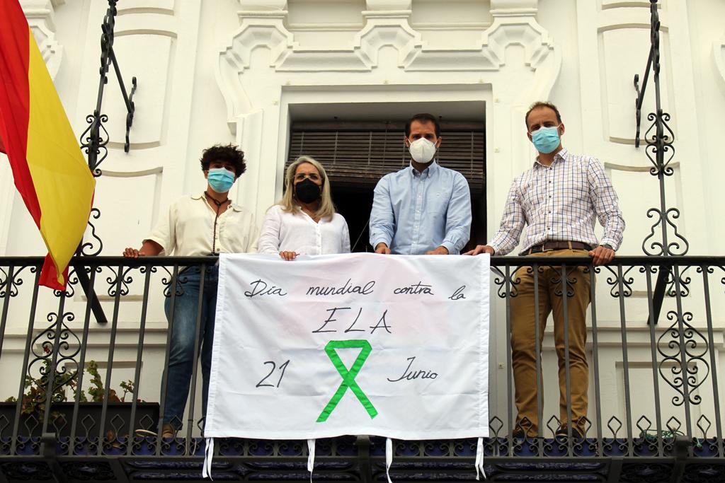 El Ayuntamiento de Cartaya se suma a la conmemoración del Día Mundial de la ELA