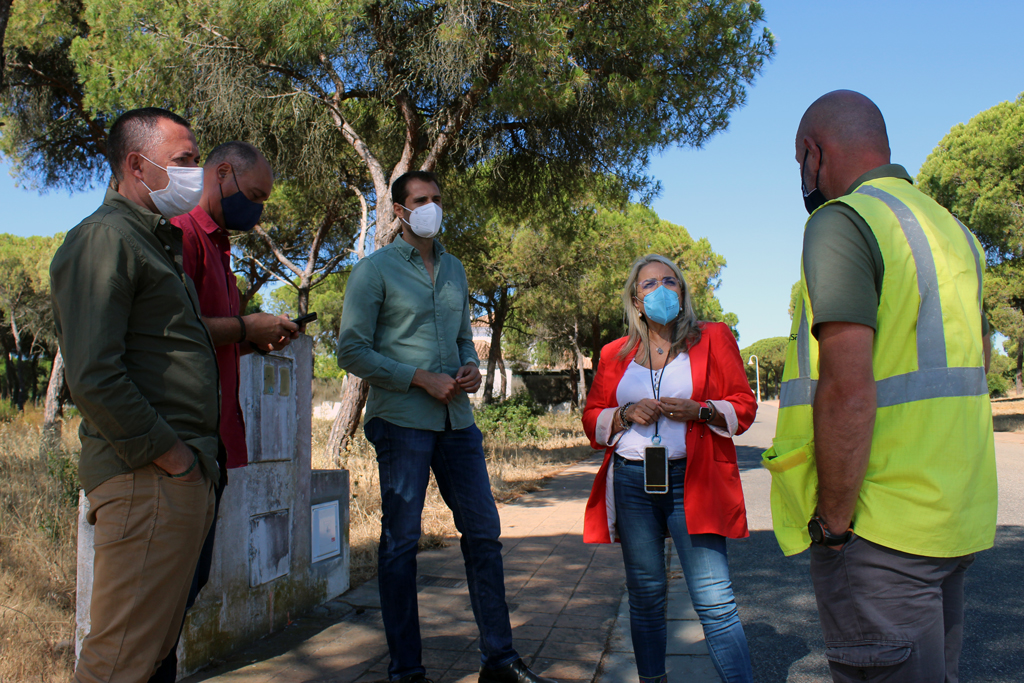 """El Ayuntamiento destaca la realización de cortafuegos en el pinar próximo a los núcleos costeros, """"dando respuesta a la insistente demanda municipal"""""""