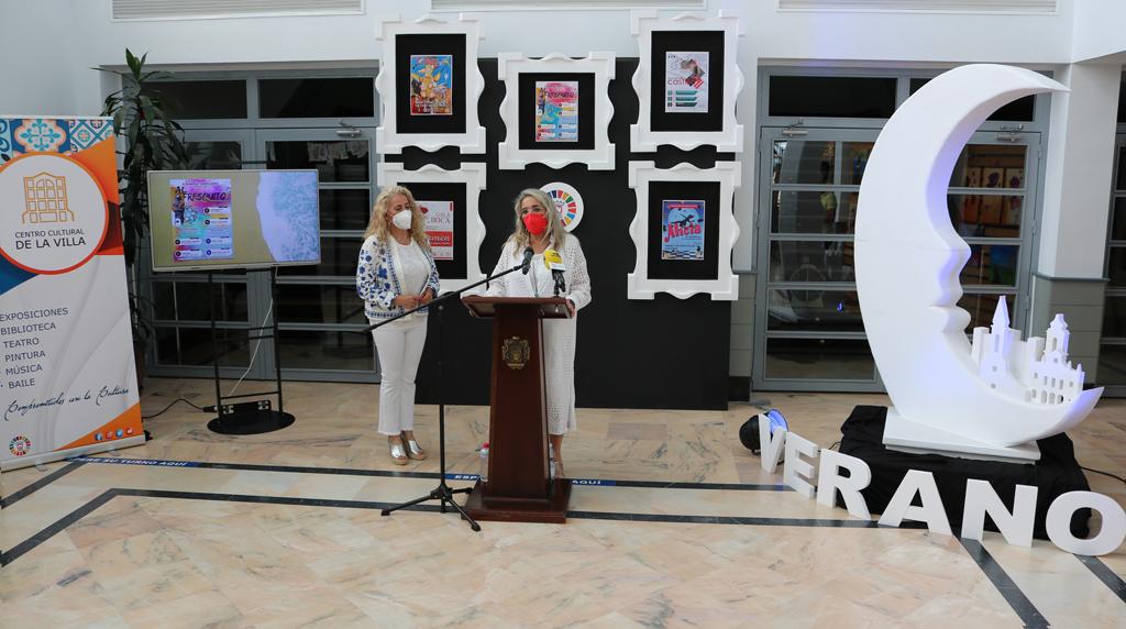 El Ayuntamiento presenta la programación cultural del verano, que por primera vez se extiende a Cartaya, El Rompido y Nuevo Portil